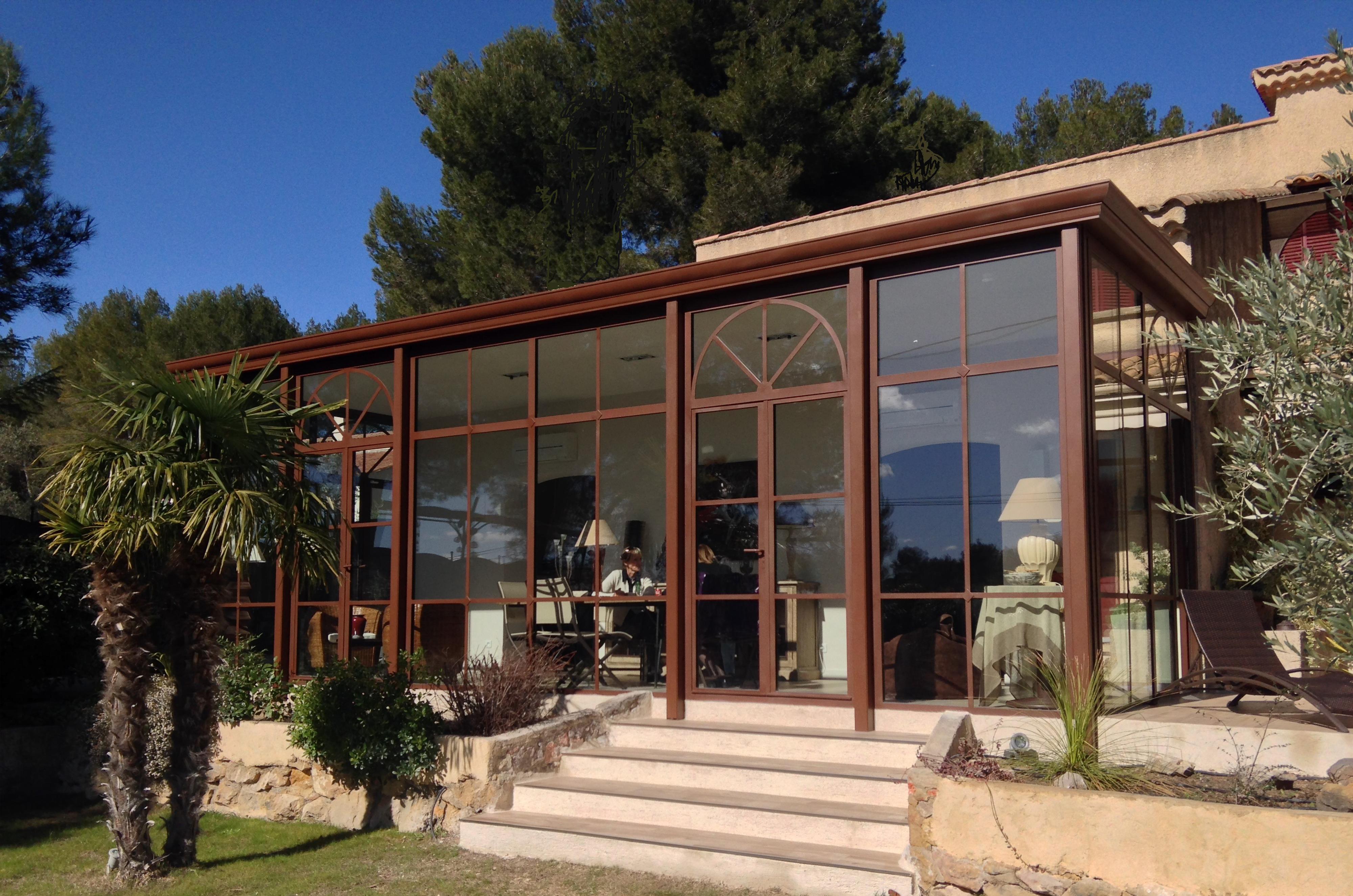 stunning jardin d hiver veranda ideas amazing house design. Black Bedroom Furniture Sets. Home Design Ideas
